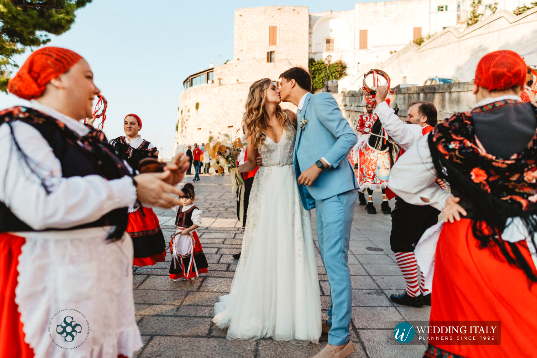 matrimonio nel borgo antico