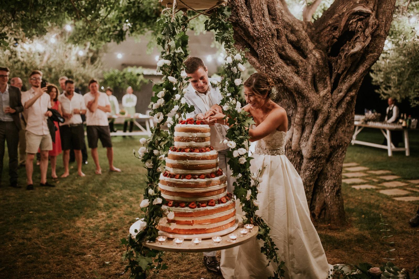 matrimonio in primavera puglia wedding cake